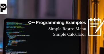 C++ Program examples